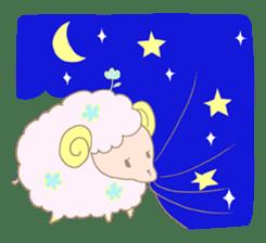 sleepy sleepy sheep sticker #4784936