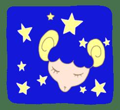 sleepy sleepy sheep sticker #4784937