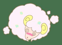 sleepy sleepy sheep sticker #4784938