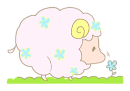 sleepy sleepy sheep sticker #4784940