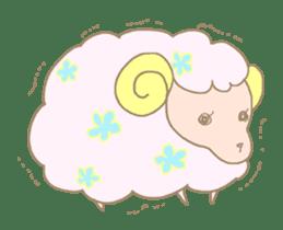 sleepy sleepy sheep sticker #4784942