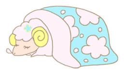 sleepy sleepy sheep sticker #4784943