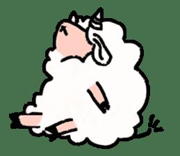 What a wonderful goat day! sticker #4784951
