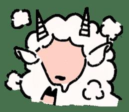 What a wonderful goat day! sticker #4784954