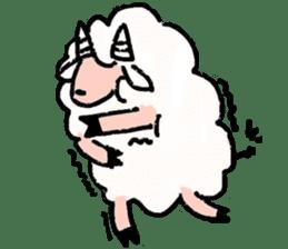 What a wonderful goat day! sticker #4784955