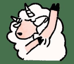 What a wonderful goat day! sticker #4784960