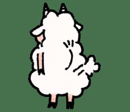 What a wonderful goat day! sticker #4784962