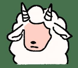 What a wonderful goat day! sticker #4784966