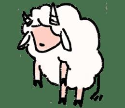 What a wonderful goat day! sticker #4784976