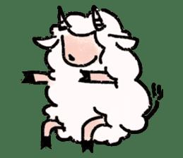 What a wonderful goat day! sticker #4784982