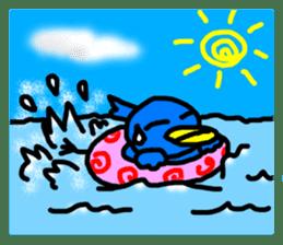 BlueBird with a Yellow beak <Part.2> sticker #4785217