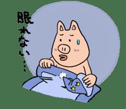 Mr.pork2 sticker #4785281