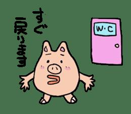 Mr.pork2 sticker #4785302