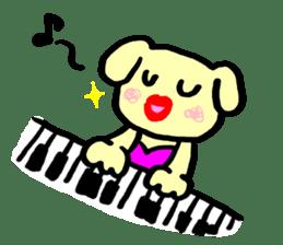Dog Work sticker #4786682