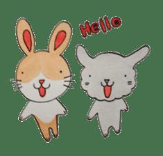 mimi & yui @ cafe sticker #4787104