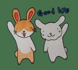 mimi & yui @ cafe sticker #4787105