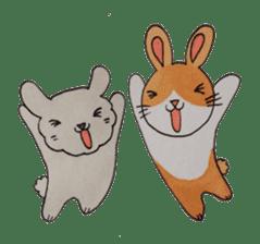 mimi & yui @ cafe sticker #4787112