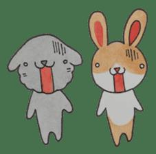 mimi & yui @ cafe sticker #4787113