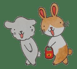 mimi & yui @ cafe sticker #4787114