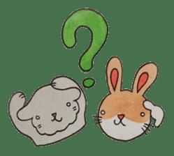 mimi & yui @ cafe sticker #4787119