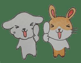 mimi & yui @ cafe sticker #4787127