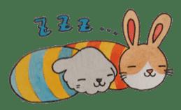 mimi & yui @ cafe sticker #4787128