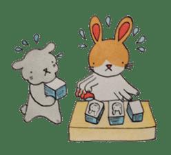 mimi & yui @ cafe sticker #4787129