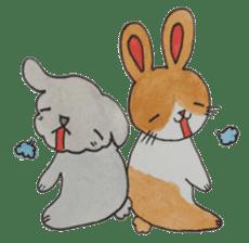 mimi & yui @ cafe sticker #4787130