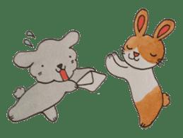 mimi & yui @ cafe sticker #4787133