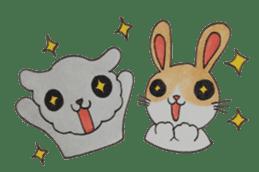 mimi & yui @ cafe sticker #4787137