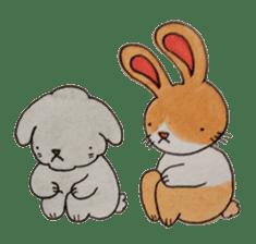 mimi & yui @ cafe sticker #4787138