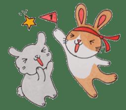 mimi & yui @ cafe sticker #4787142