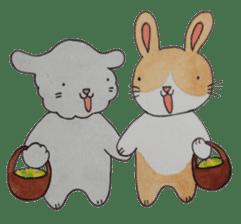 mimi & yui @ cafe sticker #4787143