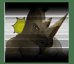 Massive Creatures EN sticker #4787299