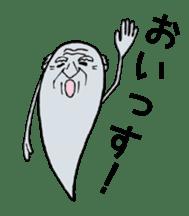 Ghost of Grandpa sticker #4787385