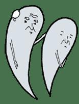 Ghost of Grandpa sticker #4787409