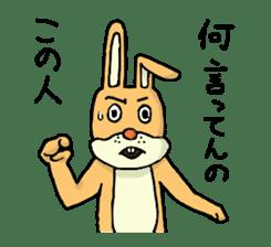 Daily life of Mr. rabbit sticker #4787426