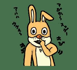 Daily life of Mr. rabbit sticker #4787432