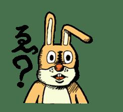 Daily life of Mr. rabbit sticker #4787433