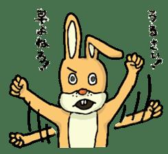 Daily life of Mr. rabbit sticker #4787443