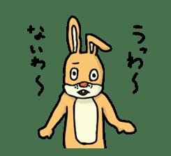 Daily life of Mr. rabbit sticker #4787445