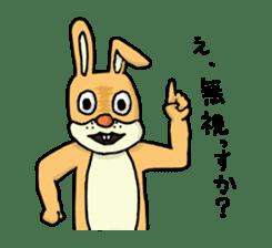 Daily life of Mr. rabbit sticker #4787446