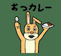 Daily life of Mr. rabbit sticker #4787457