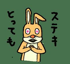 Daily life of Mr. rabbit sticker #4787462