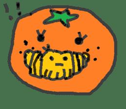 Mandarin orange's life sticker #4790104