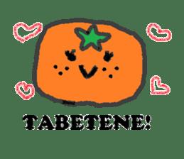 Mandarin orange's life sticker #4790108