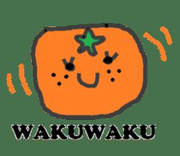 Mandarin orange's life sticker #4790110