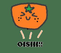 Mandarin orange's life sticker #4790112