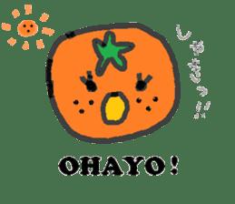 Mandarin orange's life sticker #4790117