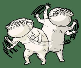GYOZA-MAN sticker #4790463